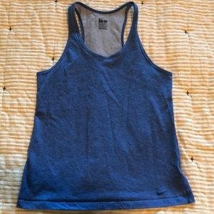 Nike Blue Dry Fit Tank